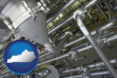 kentucky an industrial, stainless steel piping system