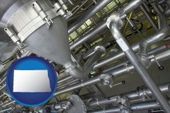 north-dakota an industrial, stainless steel piping system